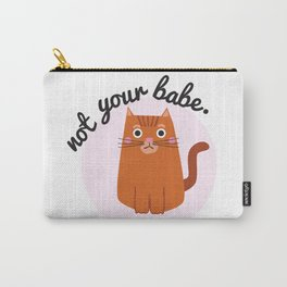 Feminist Cat Carry-All Pouch