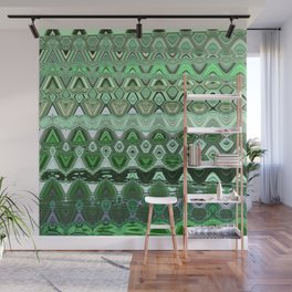 ZIG ZAGGING THROUGH THE EIGHTH UNIVERSE Wall Mural