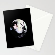 Edward Scissorhands: The story of an uncommonly gentle man. Stationery Cards