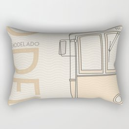 Trams of the world - Lisbon Rectangular Pillow