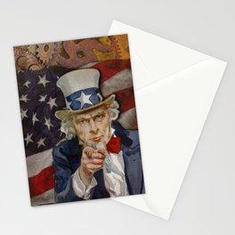 Steampunk Sam Stationery Cards
