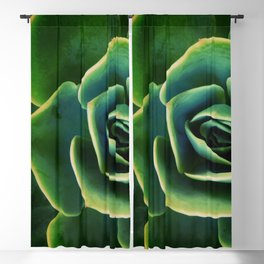 DARKSIDE OF SUCCULENTS XIII Blackout Curtain