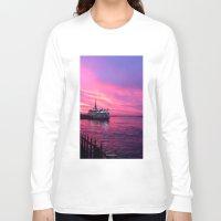 istanbul Long Sleeve T-shirts featuring İSTANBUL by Şemsa Bilge (Semsa Fashion)