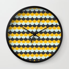 Frosting Scales 1 (YLMG) Wall Clock