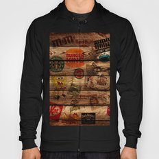 Wooden wall of Brands Hoody