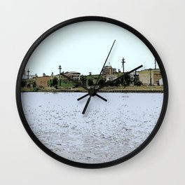 That Little Town Across the River 1 Wall Clock