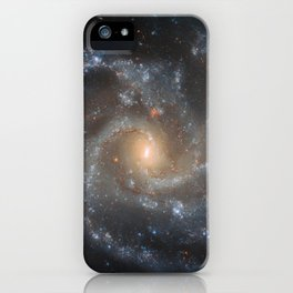 29. Hubble Spots Galaxy's Dramatic Details iPhone Case