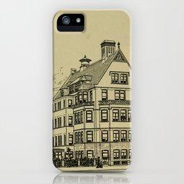 Wesley Hospital 1888 iPhone Case