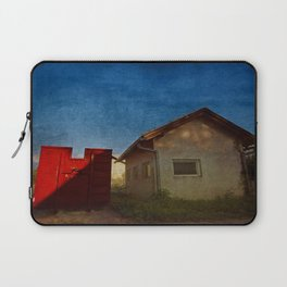 the red container Laptop Sleeve