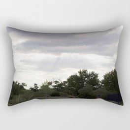 Cloudy Desert Rectangular Pillow