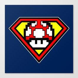 Super Mushroom Canvas Print