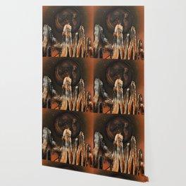 Dimensional Door Wallpaper