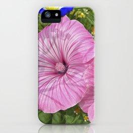 mallow bloom VI iPhone Case