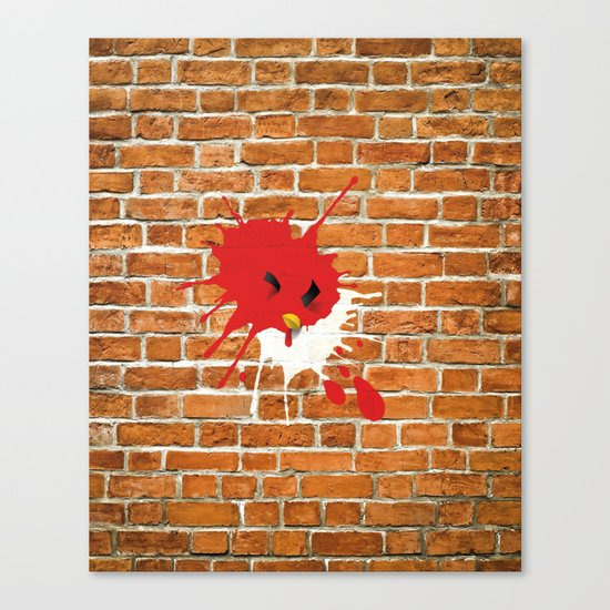 Real life - Angry Birds Canvas Print