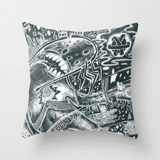 void party Throw Pillow