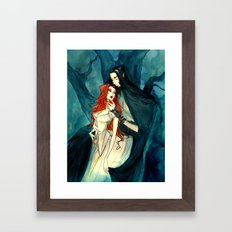 Hades and Persephone II Framed Art Print