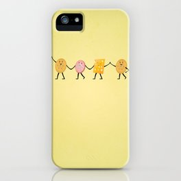 Lunchables - Best Friends iPhone Case