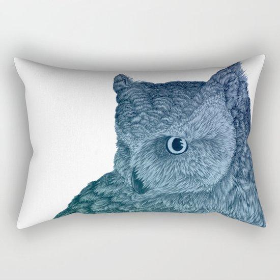 Ombre Owl II Rectangular Pillow