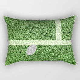 """IN"" – Hawk-Eye - green Rectangular Pillow"