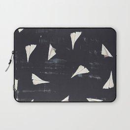 Paper Planes-Navy Laptop Sleeve