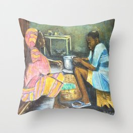 The supper Throw Pillow