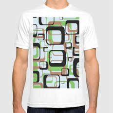 Patternation White Mens Fitted Tee MEDIUM