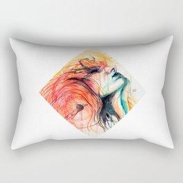 Metamorphosis-Bird of paradise Rectangular Pillow