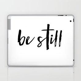 Be Still Cross Laptop & iPad Skin