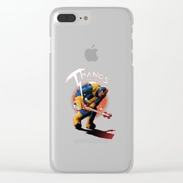 Thanos vs the Universe Clear iPhone Case