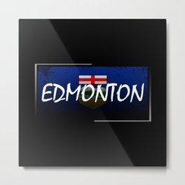 Edmonton Metal Print