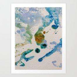 Sky Life Transmogrified Art Print