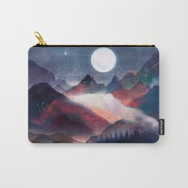 Mountain Lake Under the Stars Carry-All Pouch