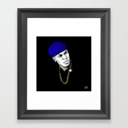 Friday Mood Framed Art Print