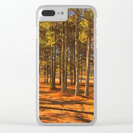 Falling for Alabama Clear iPhone Case