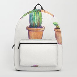 evolution cactus to pineapple Backpack