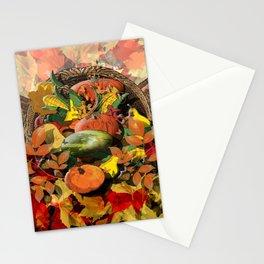 Horns of Plenty Stationery Cards
