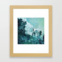 Slide Wave Framed Art Print