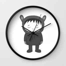 ghostboy Wall Clock
