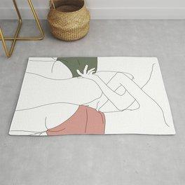 Figures line drawing - Elinor Rug