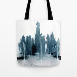 Negative Water Fountain Tote Bag