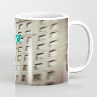 broadway Mugs featuring Broadway  by Carmen Moreno Photography