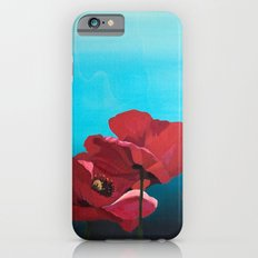 Red Poppies iPhone 6s Slim Case