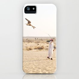 Falconry in the Middle East iPhone Case