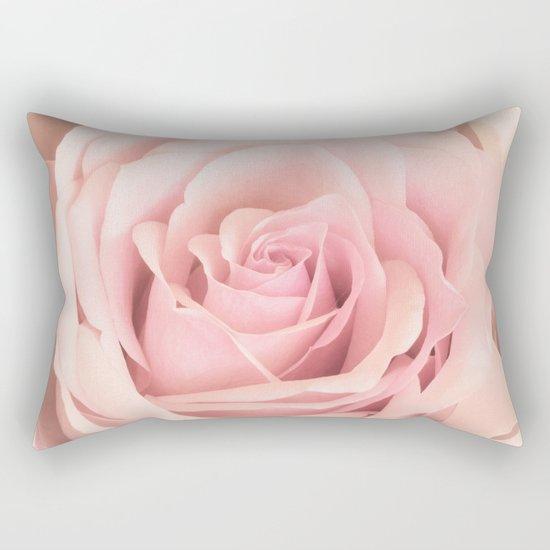 A rose is a rose - Wonderful pink Rose flower Rectangular Pillow