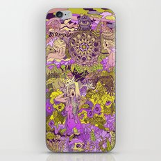 Garden Pansy iPhone & iPod Skin