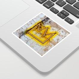 """Crown """"B"""" – NEON Sticker"""