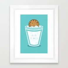 Hot Tub Cookie Framed Art Print