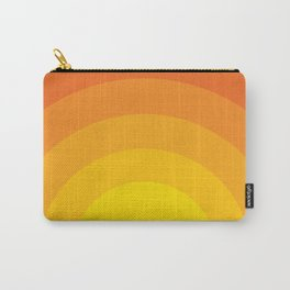 Bold Sunset Carry-All Pouch