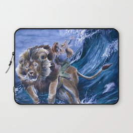 The Confrontation with Fear Laptop Sleeve