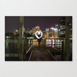 Brisbane Love Canvas Print